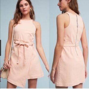 Anthropologie - Holding Horses Pink Denim Dress 2